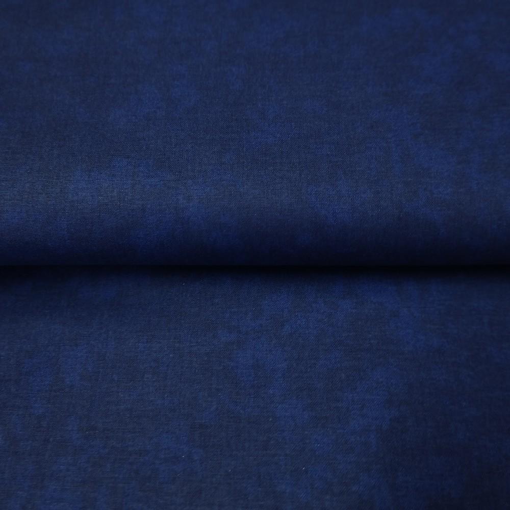 bavlna tmavě modrá -