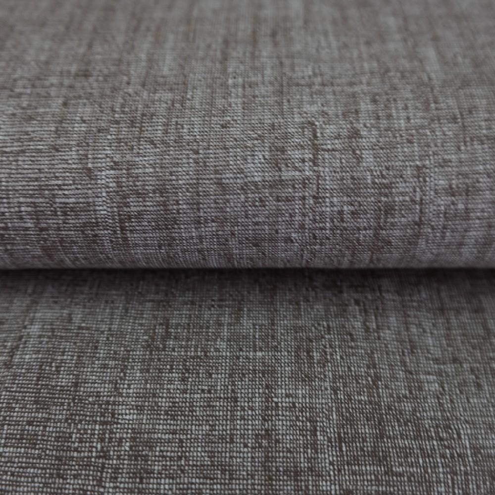 bavlna hnědý natur 140 cm