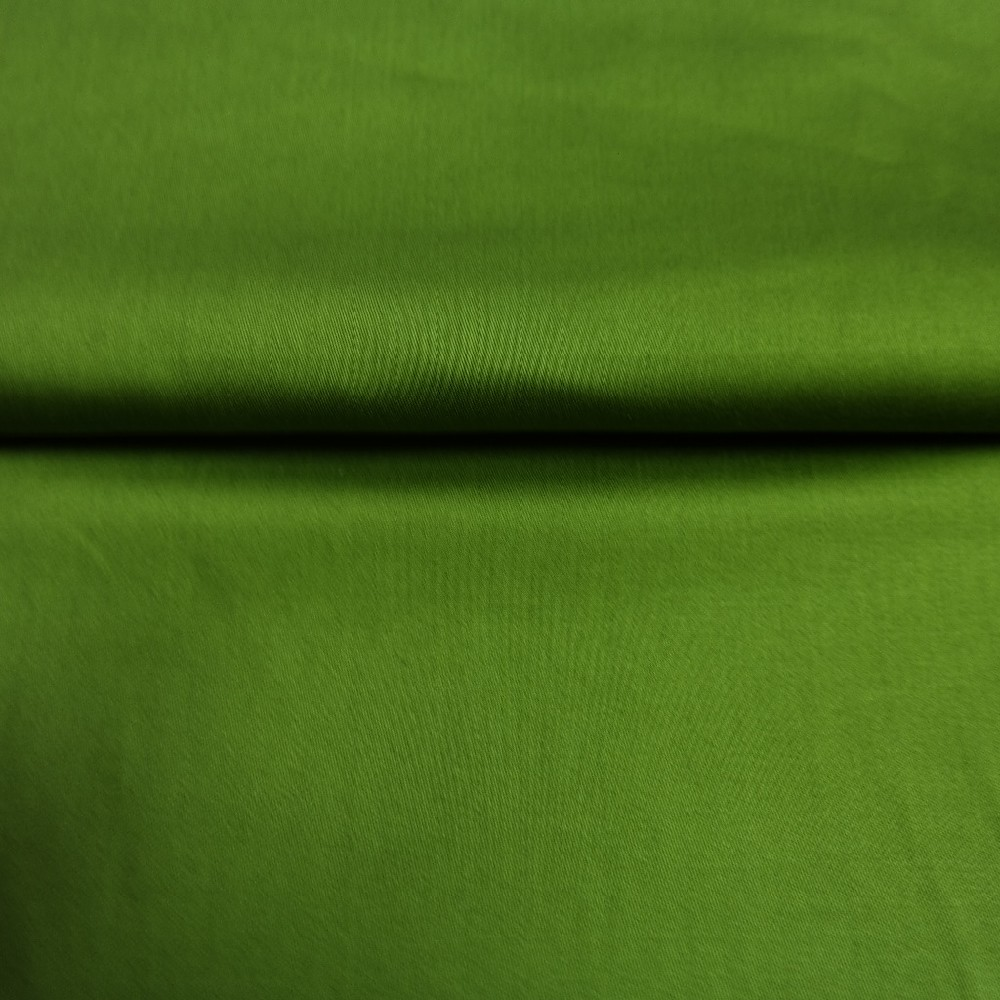 bavlna satén zelený 160 cm