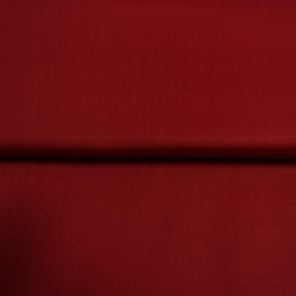 bavlna satén červená 160 cm