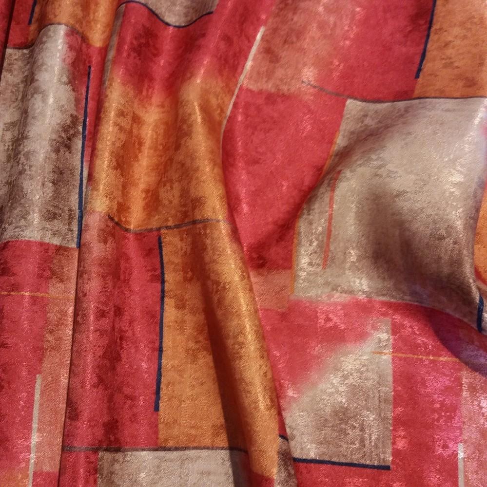 dek vzor SA melír st.růžová š.155 1 j