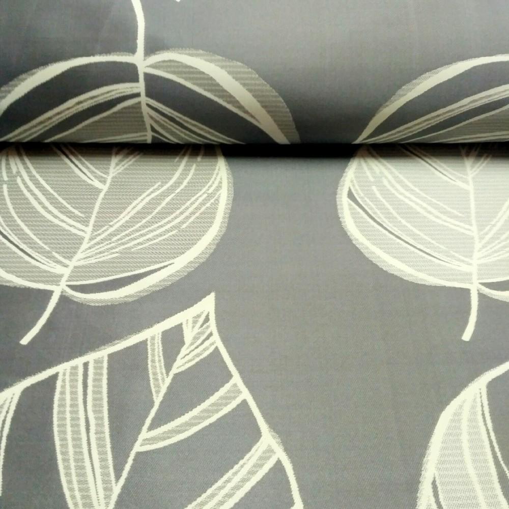 dekoračka šedá list