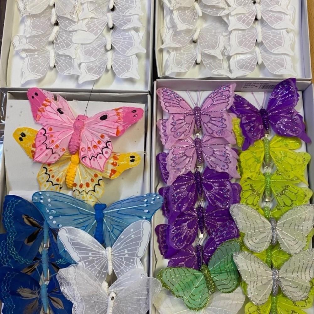 motýl dekorace