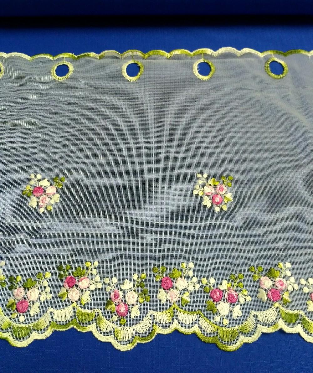 záclona W/31818K růže 30 cm