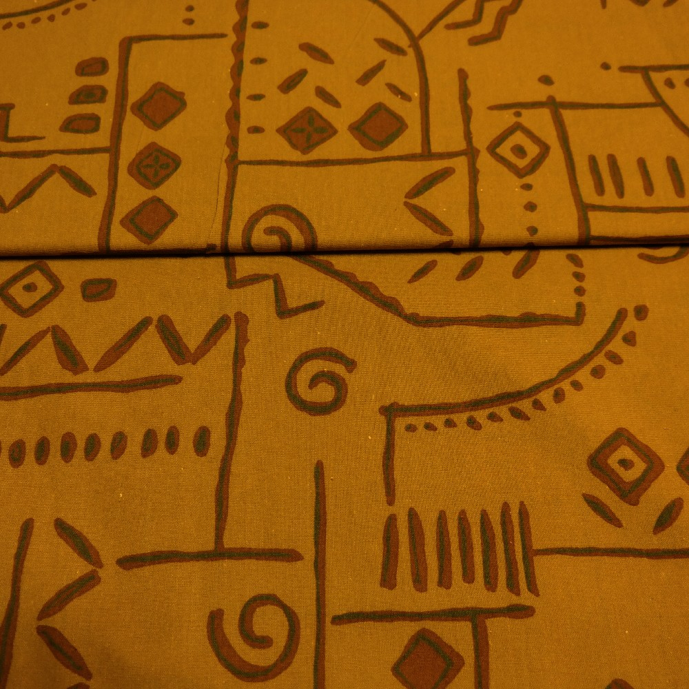 bavlna hnědá Egypt