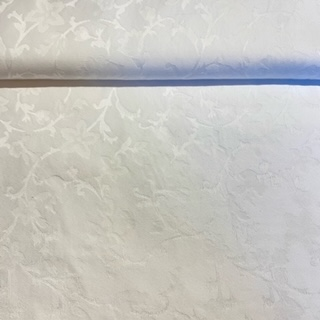 bavlna damašek bílý š.280