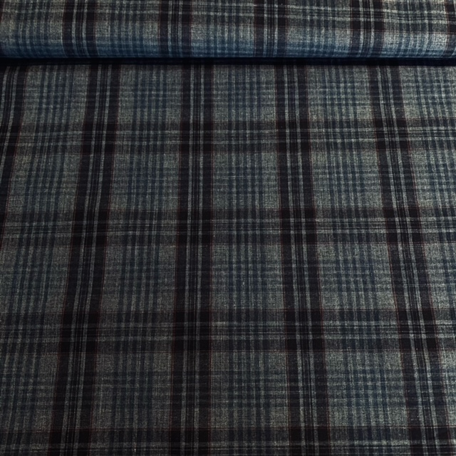 košilovina tm. modrá kostka