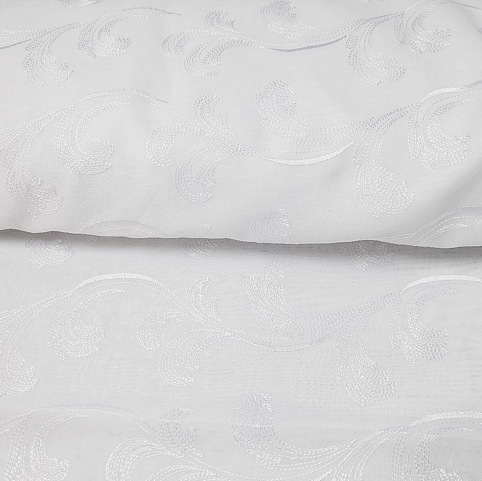 záclona Rand vyšívaný batist 280 cm