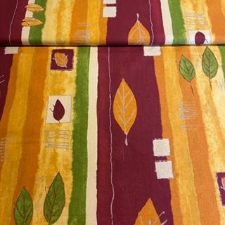 bavlna bord.žlu.zel.abstr.vzor
