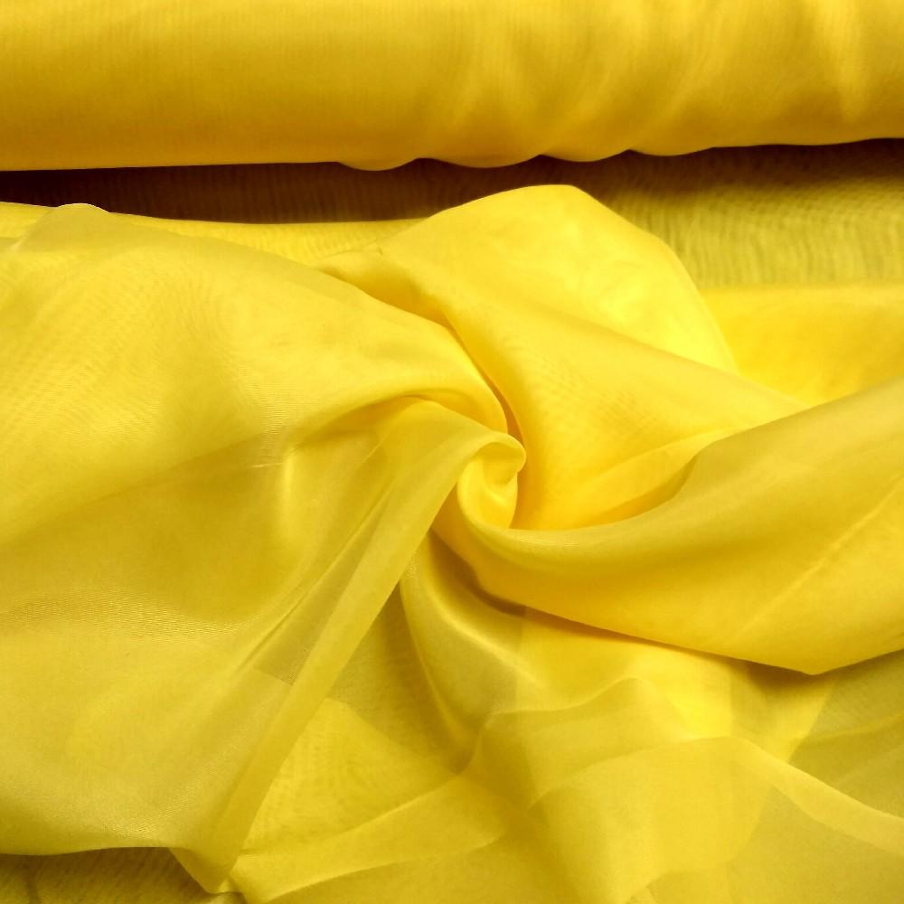 záclona G messe žlutý voal 290