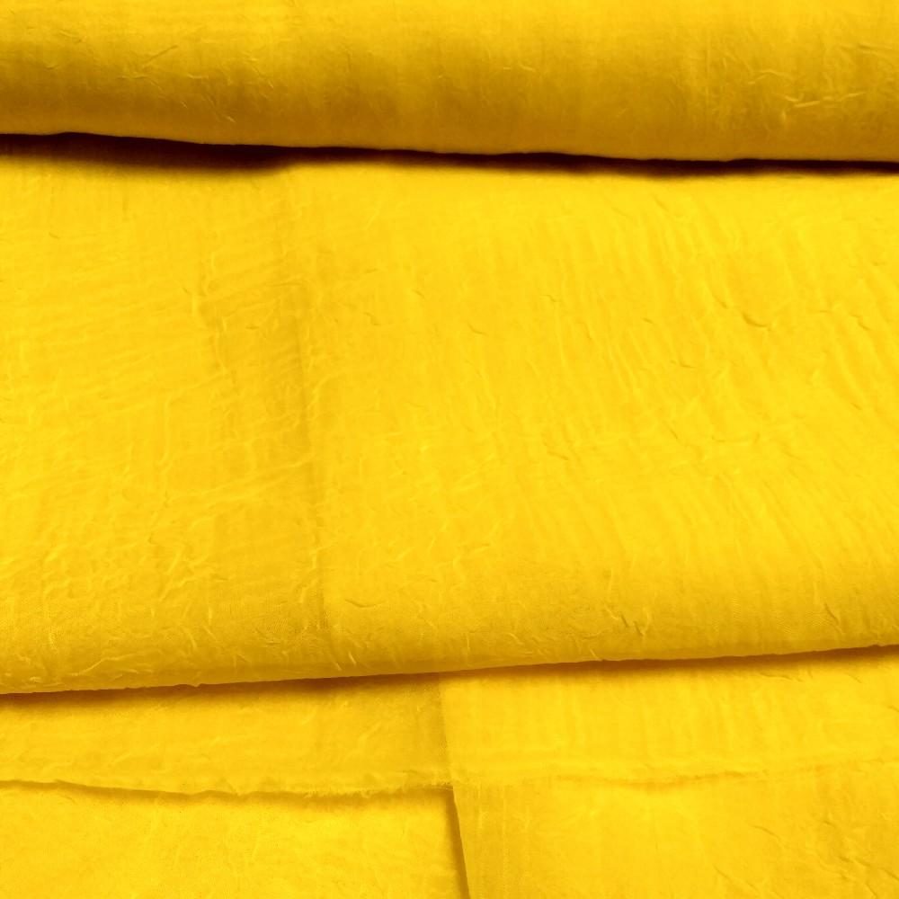 voál crasch žlutý 083 v.270cm