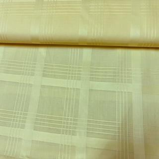 bavlna  světle žluté kostky 160 cm n.j.