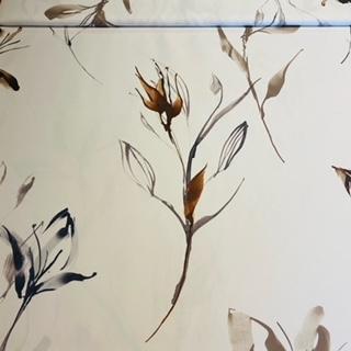 dekoračka bílá květšedý š.140cm