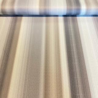 dekoračka bílošedobéžpruh š.140cm
