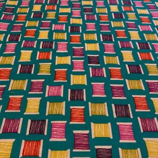bavlna  barevné špulky 110 m