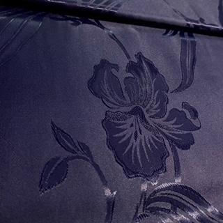 brokát modrý tmavě 1 j.