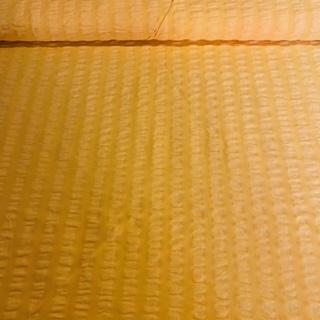 krep žlutý š.140 1.jak.