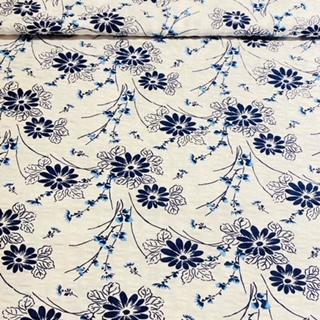 bavlna krep Viktorie-květ š.140cm1.j.