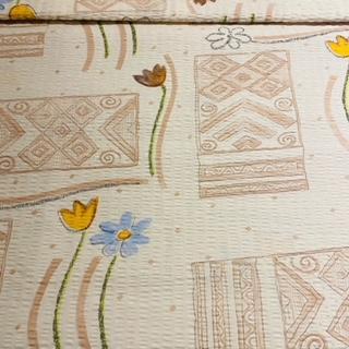 bavlna krep Koral Lux žlu.hněd.ab.vz.160