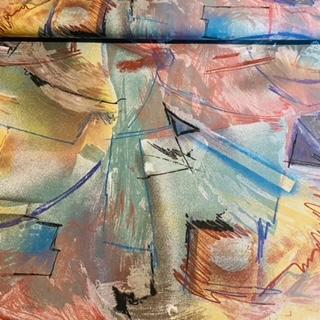 bavlna pestré šmouhy žlborzelšč š.160 N