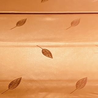 dekor.N hněd.zlaté litsty š.150
