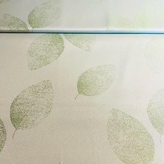 dekor. zelen. listy na bílém