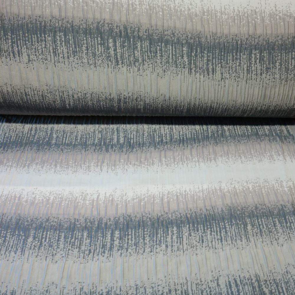 dekoračka crash oboustranný, šedý až bílý melír š.160 PES
