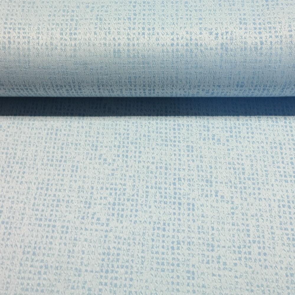 dekoračka modro-bílá hadina š.140 PES