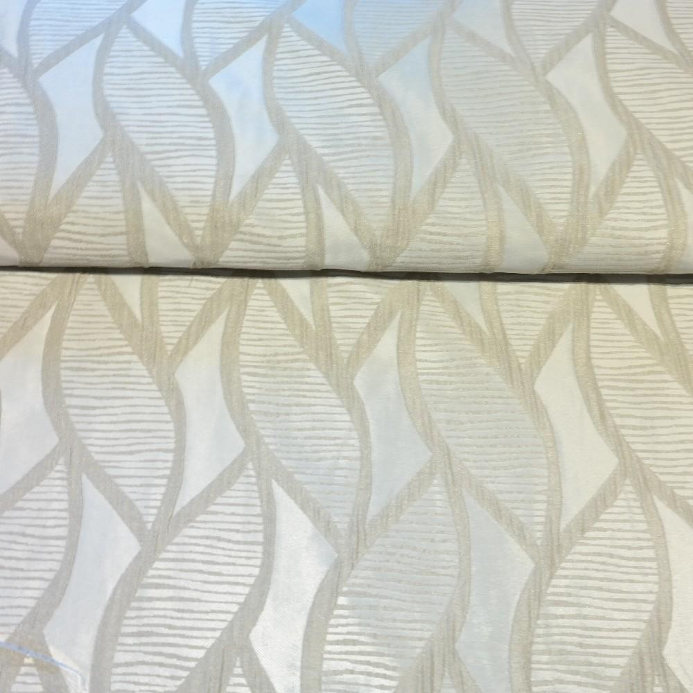 dekoračka šedá, vytlač listy š.140 PES
