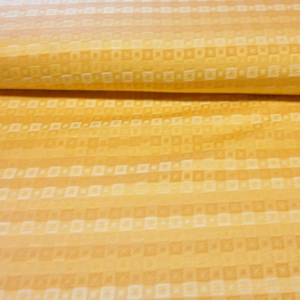 dekoračka oranžovo-žlutá, kostičky š.140 PES