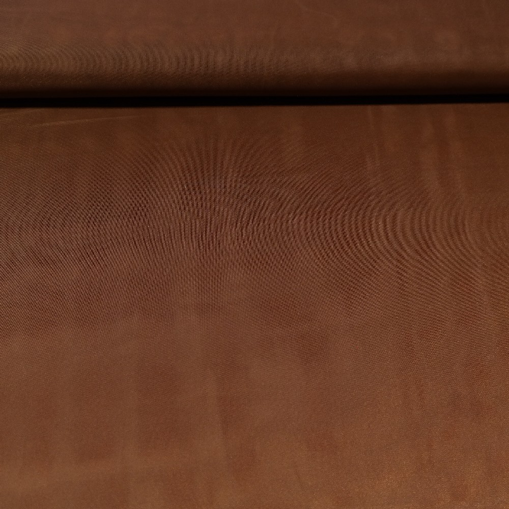 záclona voál hnědý š.150