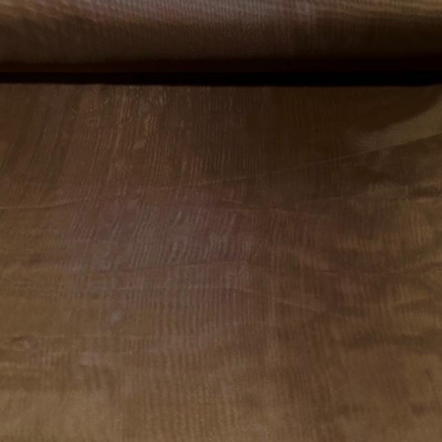 záclona voál čokoládově hnědý š.280