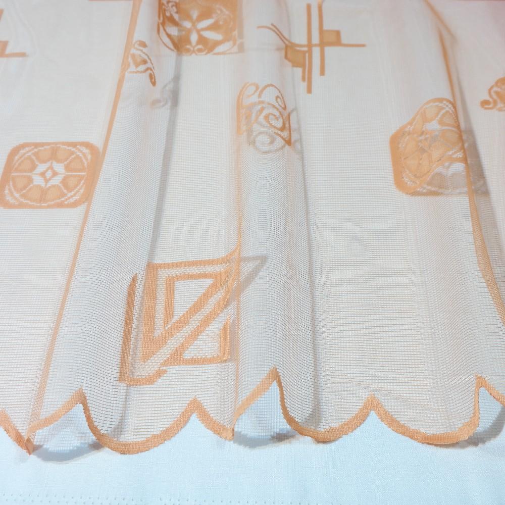 záclona  4385/180  1 j. oranžová