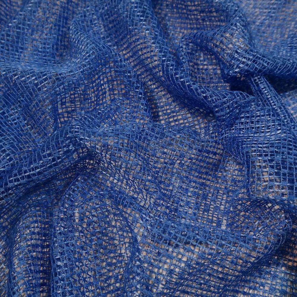 záclona  Gran/400/280  modrá
