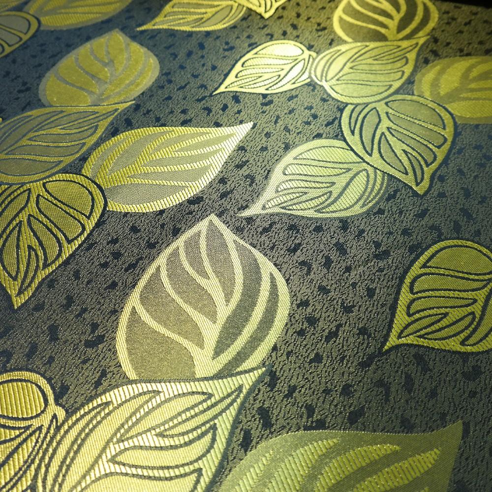 dekoračka zeleno fosforové listy š.145