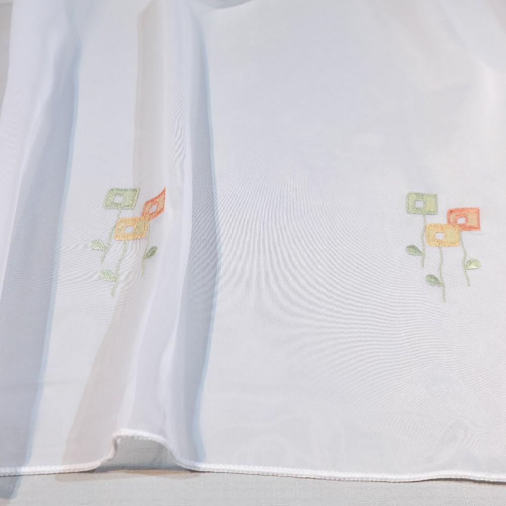 záclona bílá G 180 voal vyš 1.jakost