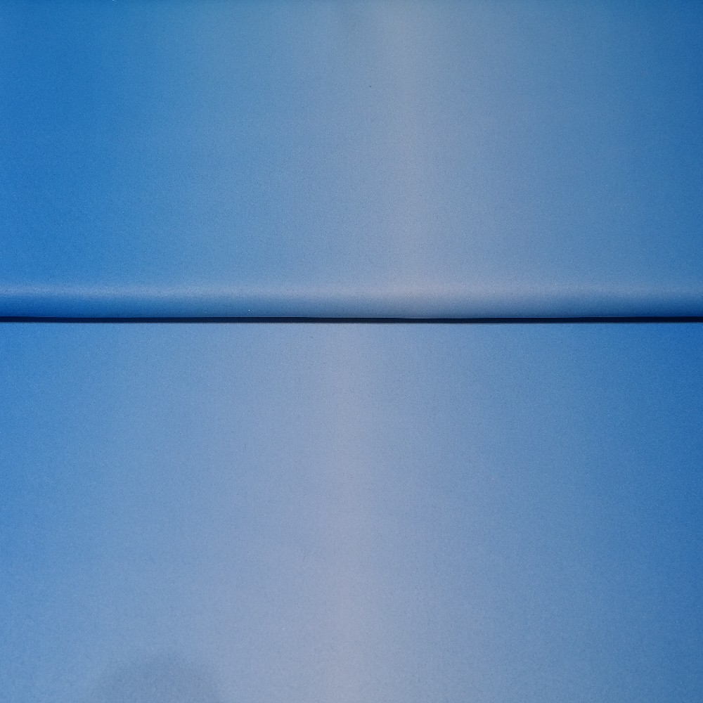 dekoračka black-out modrý, ombré š.150cm
