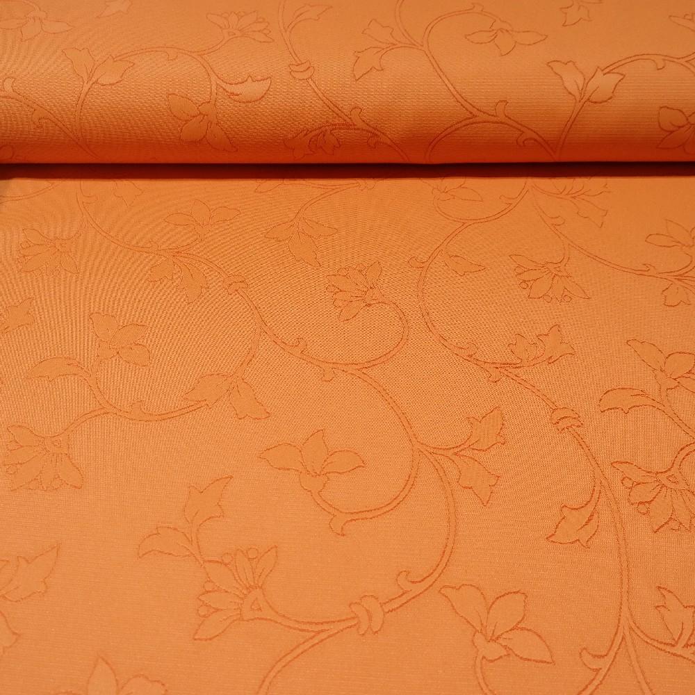 dekoračka oranžová šlahouny š.150 messe
