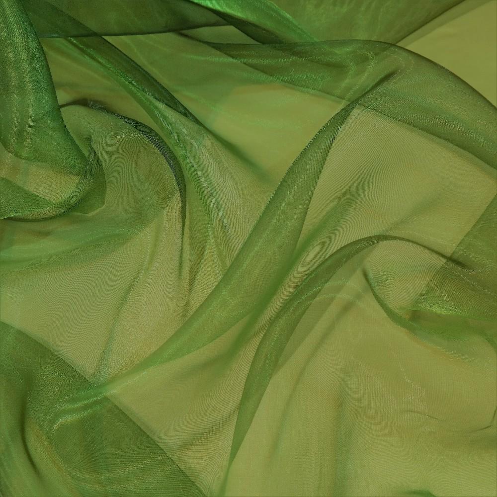 záclona voál zelený š.140