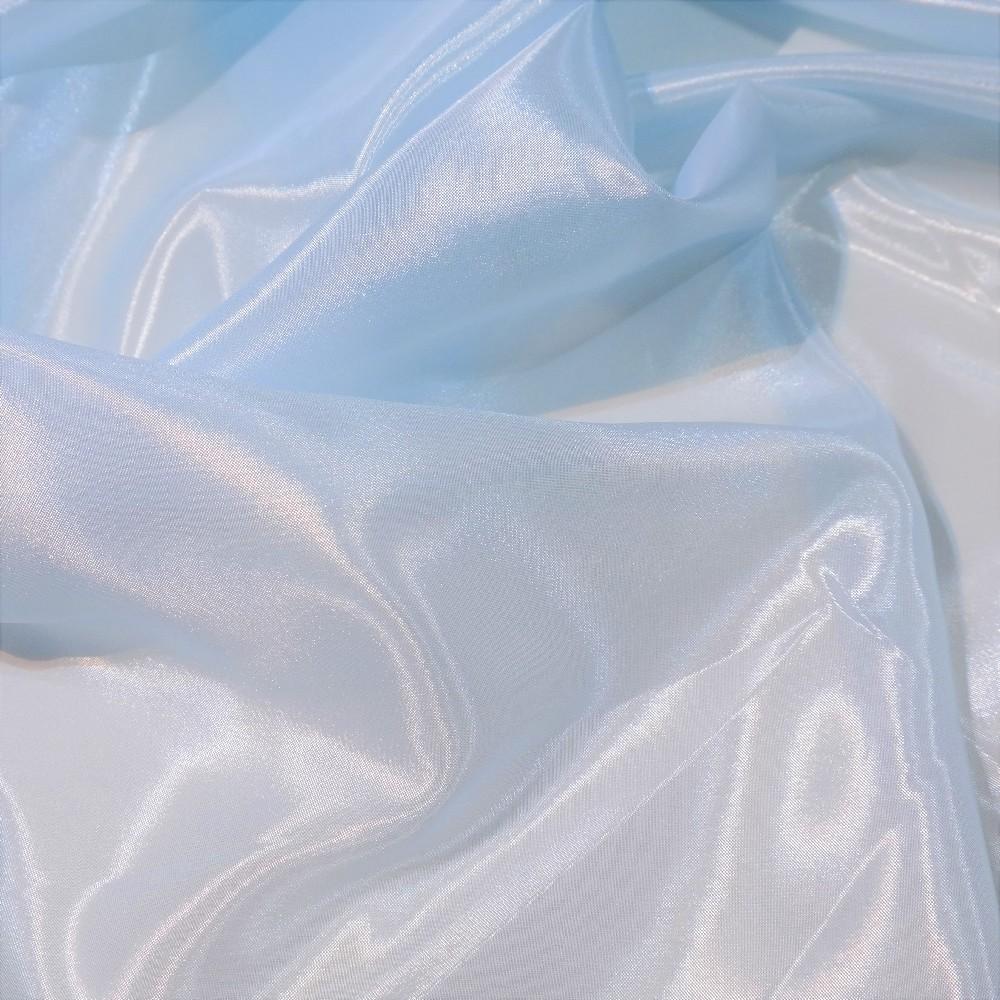 záclona voál světle modrá š.300 G