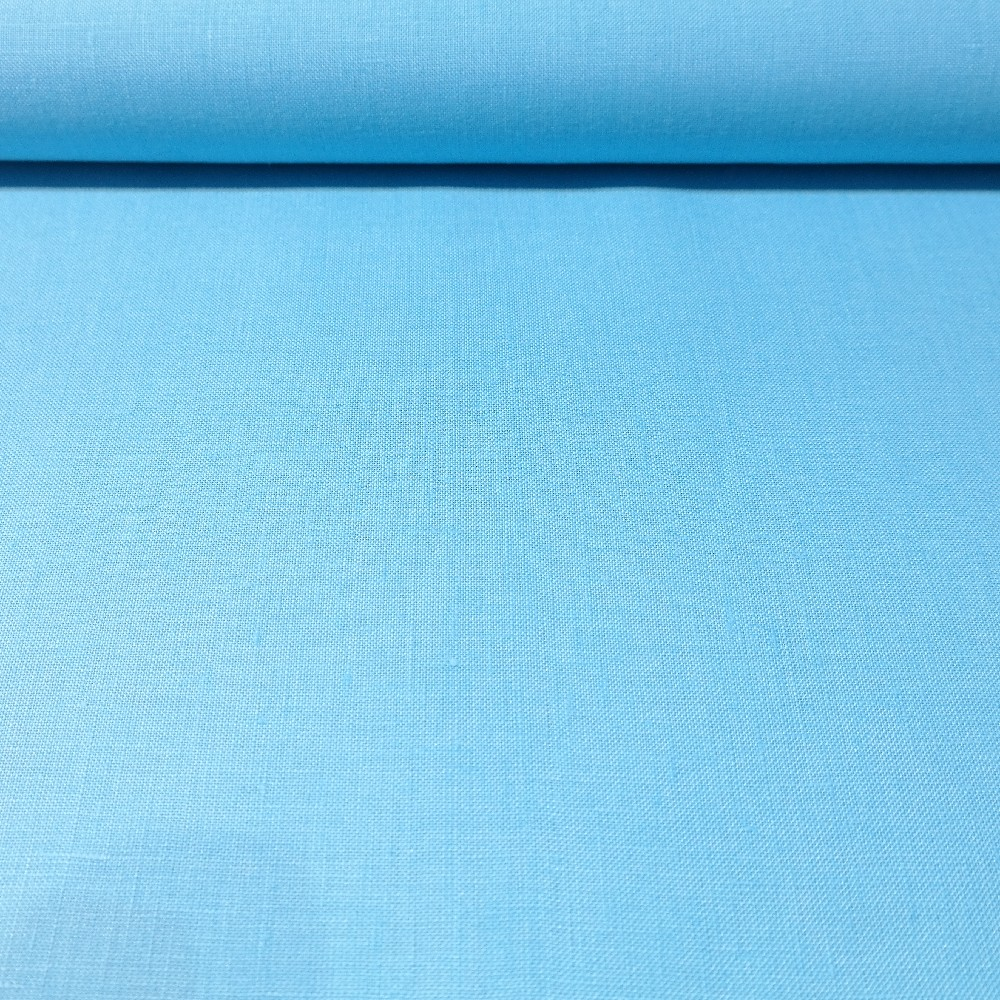 len modrý 150cm