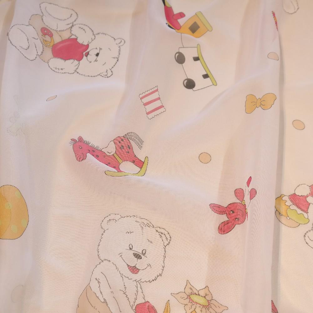 záclona voál medvídci Ro 51117-280