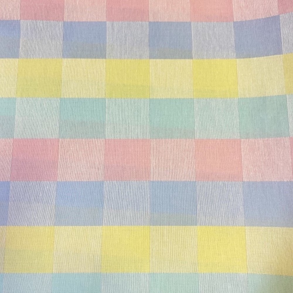 bavlna damašek kostka barevná