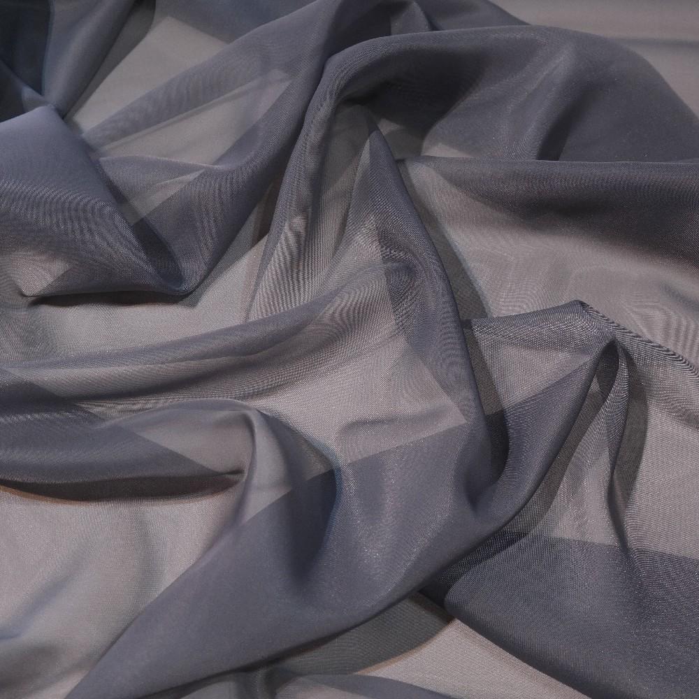 záclona voál šedý š.150 Ve