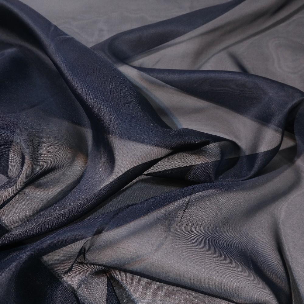 záclona voál černý š.150 Ve