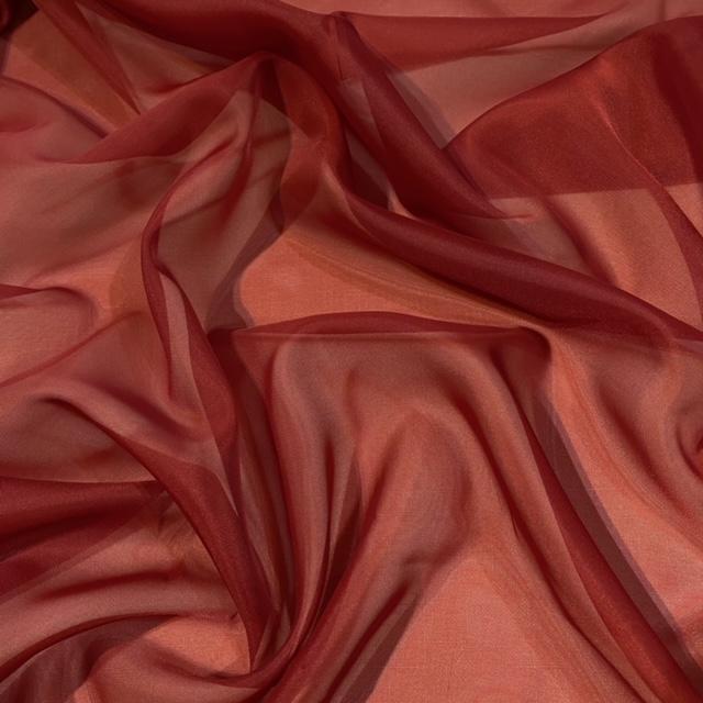 záclona voál červený š.150 H Beate
