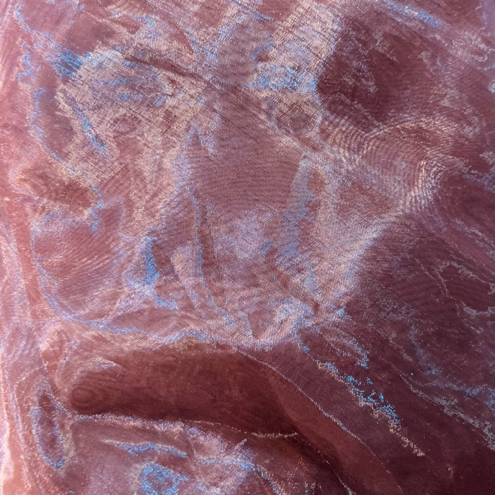 záclona voál organza fialová