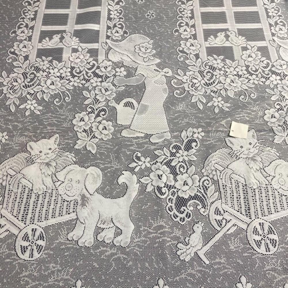 záclona dětská žakár