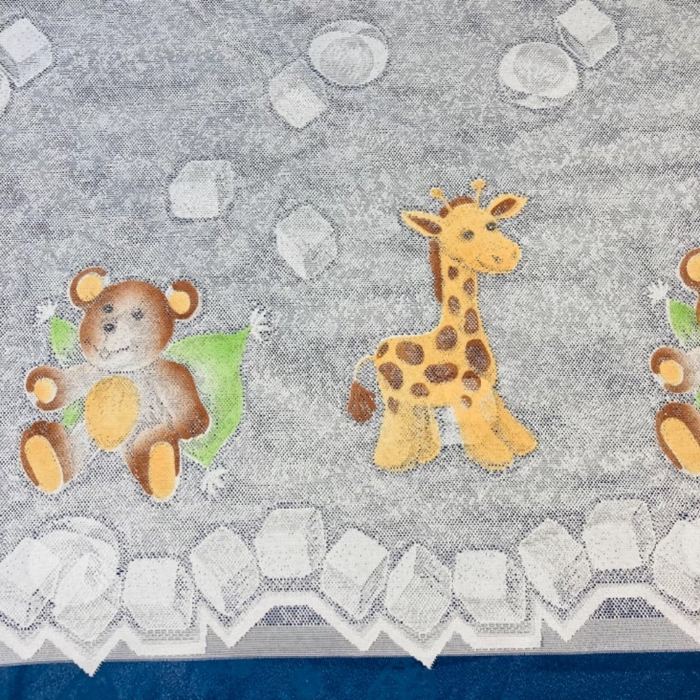 záclona žakár dětská 160