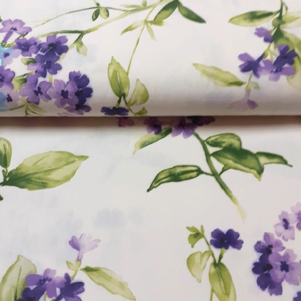 dekoračka smet.fialové květy